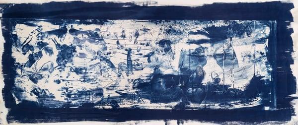 Blue Waltz Cyanotype
