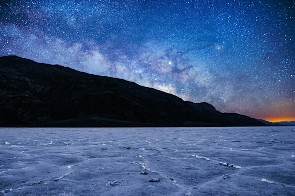Milky Way Rising | BadWater - Death Valley NP | Douglas Sandquist Photography