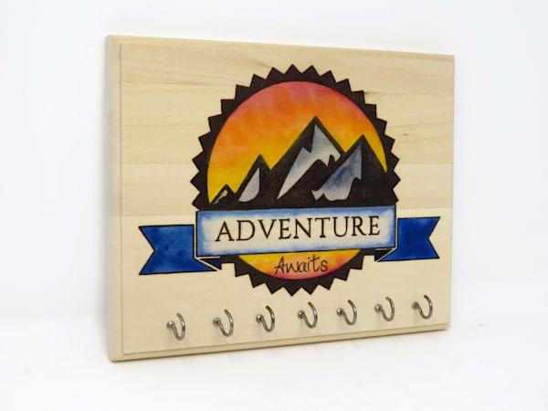 Adventure Awaits (Original Woodburning)