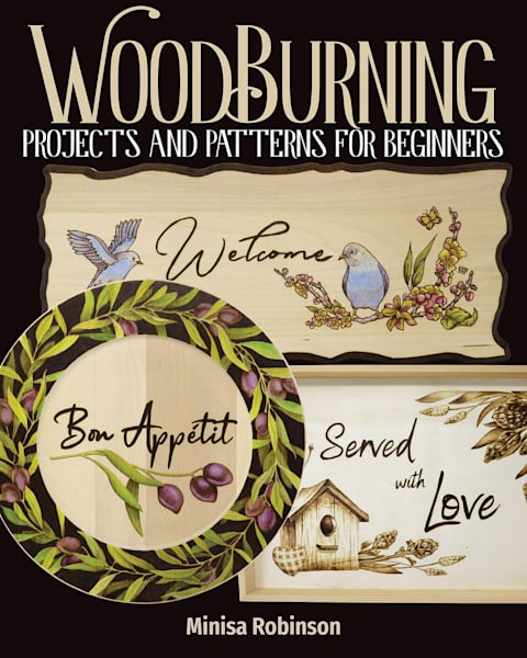 PRE_ORDER: Woodburning Projects and Patterns for Beginners