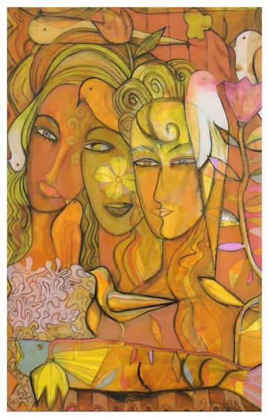 Three Faces Open Edition Art | Hushcha Studio
