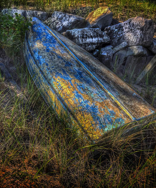 Rough Rowboat Art | Mark Stall IMAGES