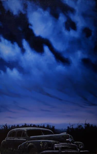 Still Of The Night | Original Oil Painting Art | MMG Art Studio | Fine Art Colorado Gallery