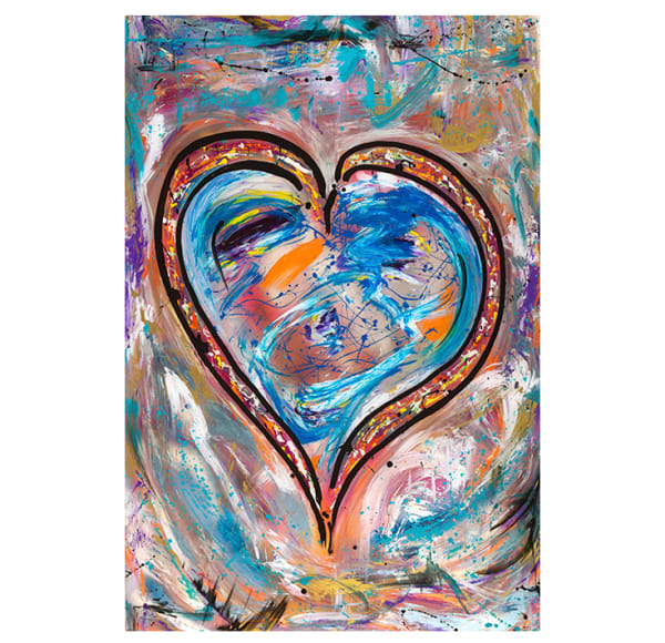 Blue Love | Original Art | JD Shultz Art