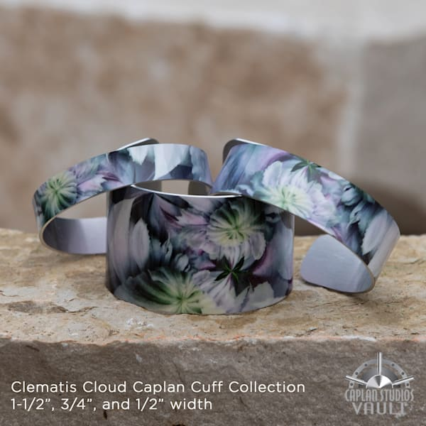 Clematis Cloud Caplan Cuff