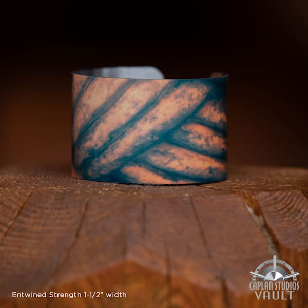 Entwined Strength Caplan Cuff