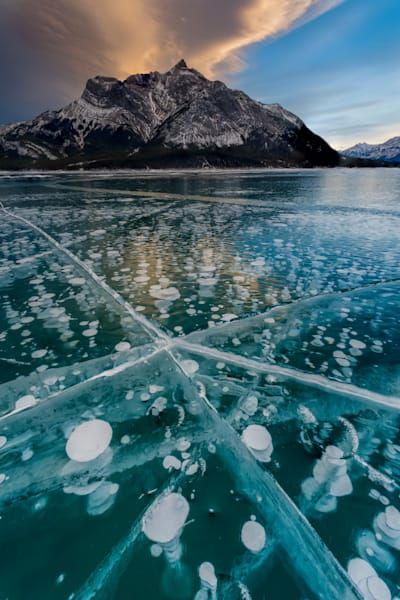 Trapped in Thought   Abraham Lake, Canada   Douglas Sandquist Photography