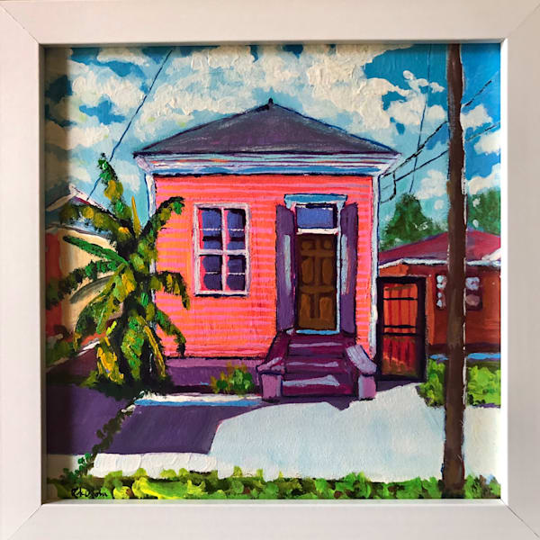 Hot Pink Shotgun House Art | Rick Osborn Art