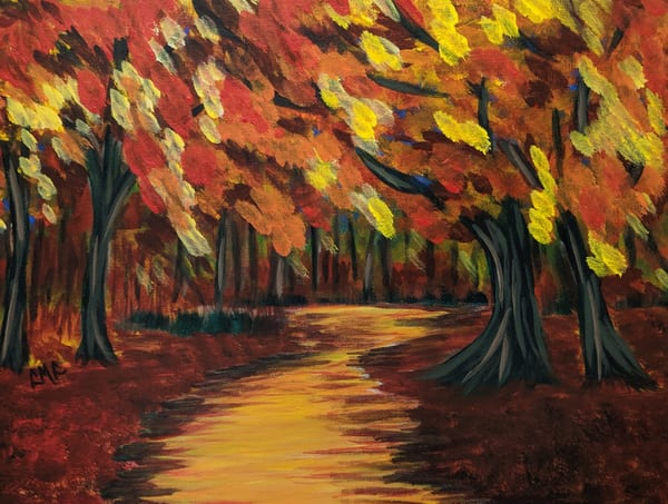Maple Forest Trail | LML Studio Art