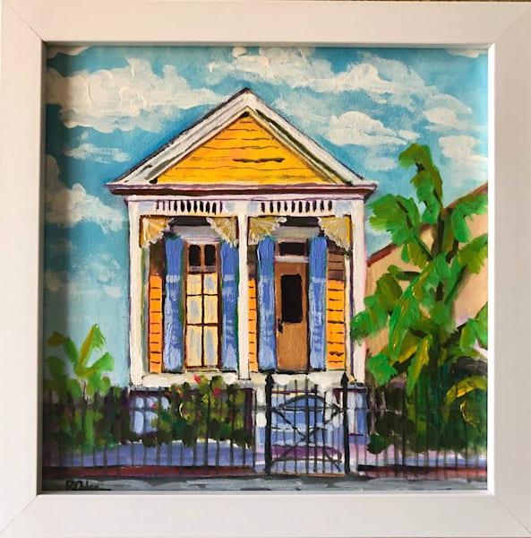 Yellow Shotgun House Art | Rick Osborn Art