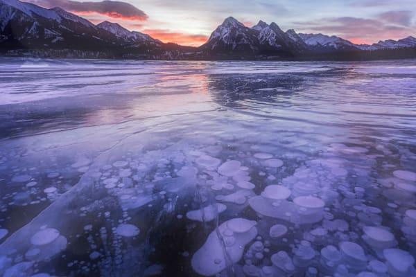 Prayers Rising   Abraham Lake, Alberta Canada   Douglas Sandquist Photography
