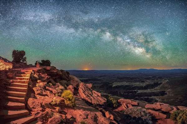 Stairs to the Heavens   Canyonlands National Park   Douglas Sandquist Photography