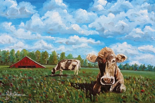 Pretty Cowsual Art | Rick Osborn Art