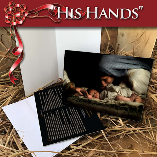 His Hands (10 Pack of Cards + Envelops)