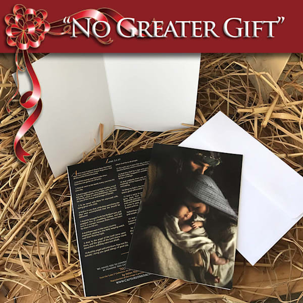 No Greater Gift (10 Pack Of Cards + Envelopes) | Captured Miracles Production, and Helen Thomas Robson byDESIGN