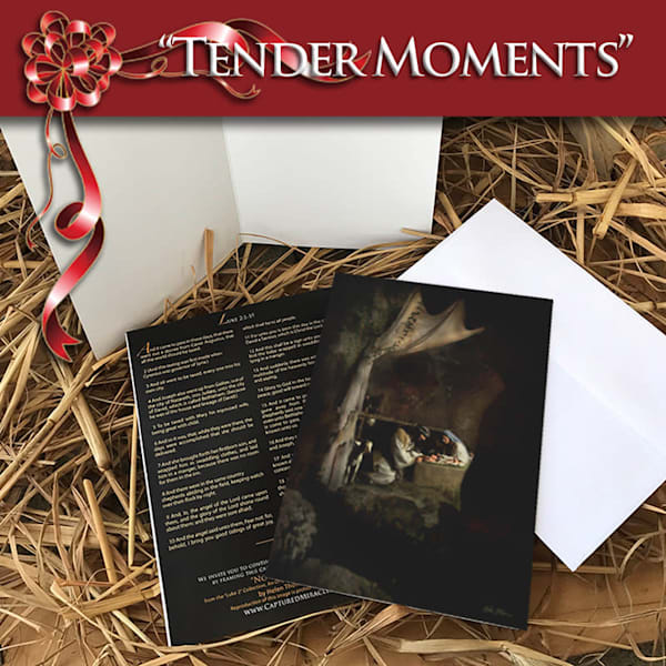 Tender Moments (10 Pack Of Cards + Envelops) | Captured Miracles Production, and Helen Thomas Robson byDESIGN