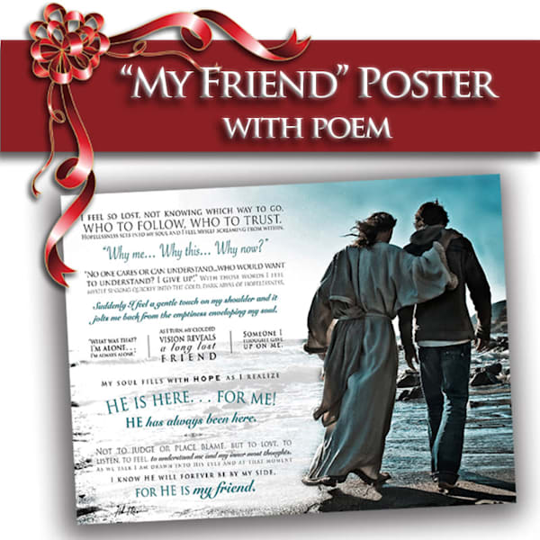 My Friend Poster (18x24) | Captured Miracles Production, and Helen Thomas Robson byDESIGN