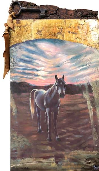 A Friend at Sunset by Pamela Becker
