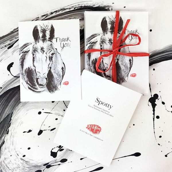 Note Cards: Horses