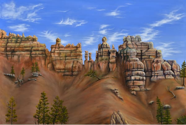 Bryce Canyon Art | MMG Art Studio | Fine Art Colorado Gallery