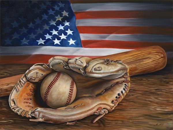 American Pastime (No Cr Logo) Art | MMG Art Studio | Fine Art Colorado Gallery