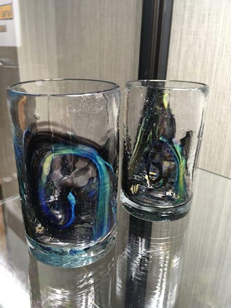 Northern Lights Series Whisky Glasses