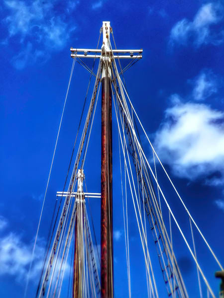 Key West Cross Masts Art | Mark Stall IMAGES