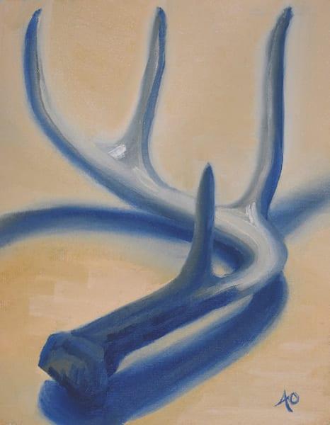 0043 Antler 2 Art | Amy O'Hearn Art