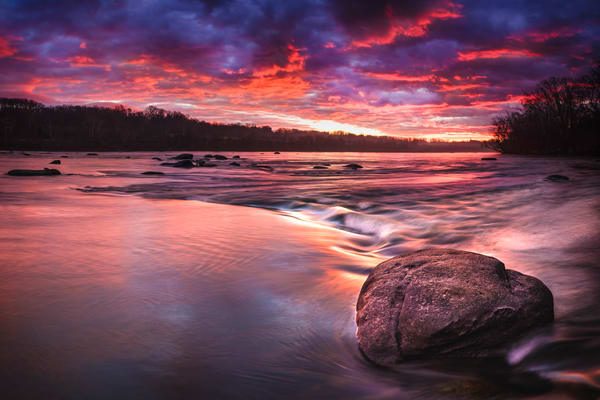 James River Sunrise