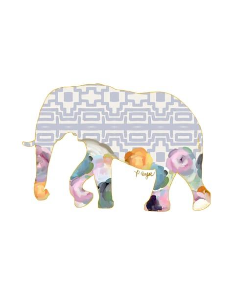 Elephant No.3 Art Print