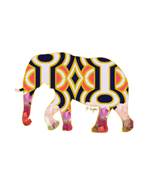 Elephant No.2 Art Print