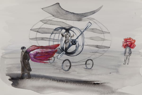 The Flying Machine Art | Trine Churchill