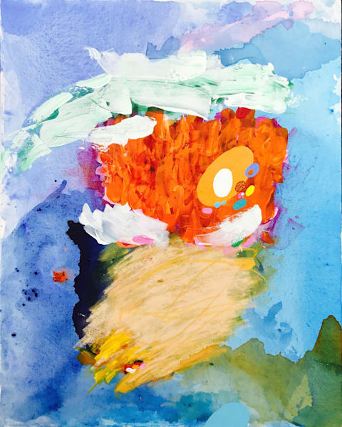 A Drift Painting on Canvas by Artist  Deepa Koshaley