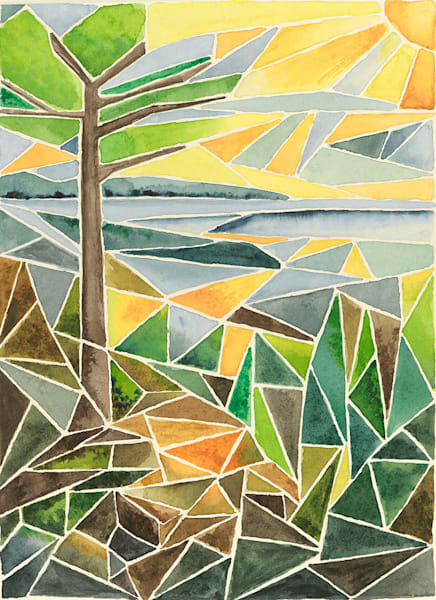 """Isle Royale Sunrise"" fine art print by Matthew Campbell."