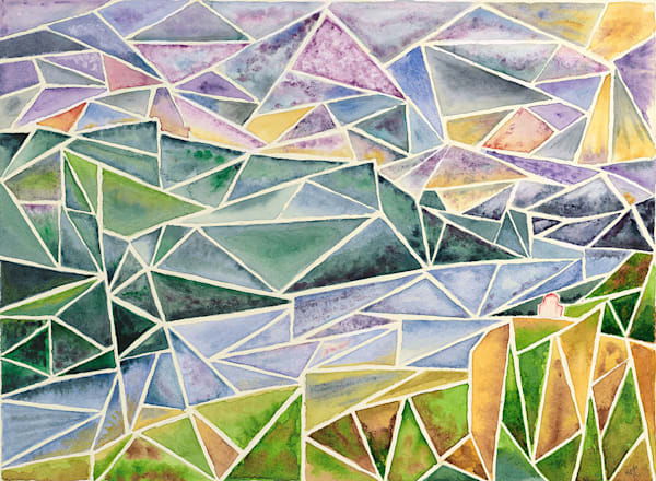 Geometric Impressionism art work by Matthew Campbell.