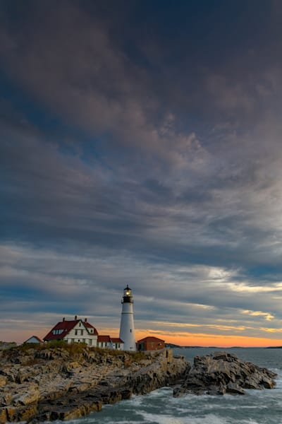Portland Head Light on an October Morning | Shop Photography by Rick Berk