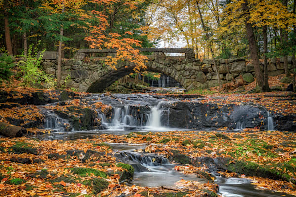 Autumn at the Stone Bridge | Shop Photography by Rick Berk