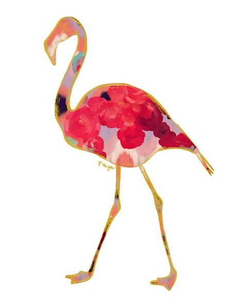 Flamingo No.1 Art Print