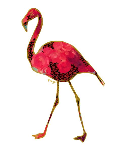 Flamingo No.2 Art Print