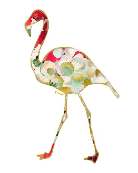 Flamingo No.3 Art print
