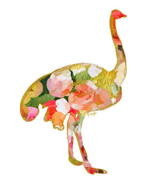 Ostrich No.3 Art Print by Parima Studio