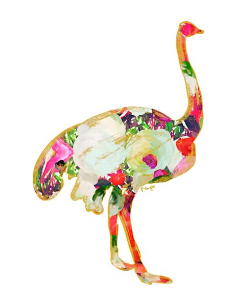Ostrich No.2 Art Print