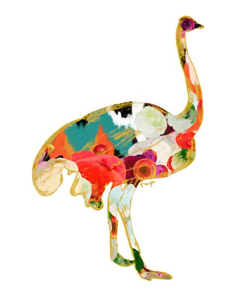 Ostrich No.1 Art Print