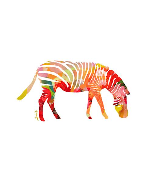 Zebra No.1 Art Print