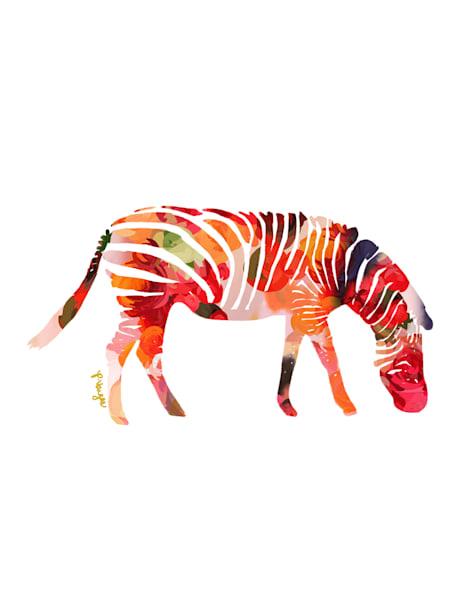 Zebra No.2 Art Print