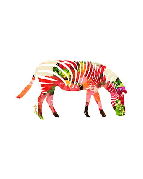 Zebra No.3 Art Print