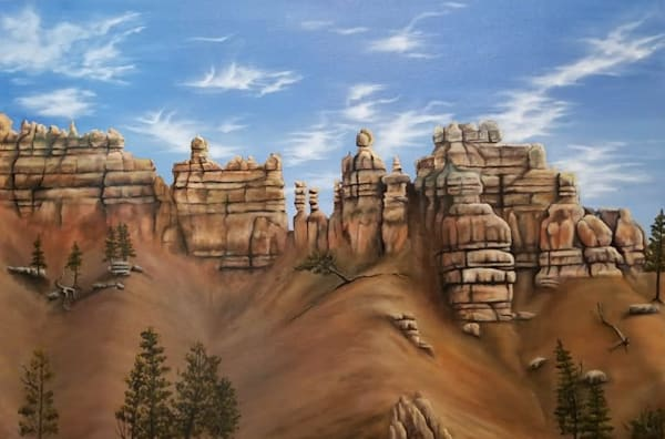 Bryce Canyon  | Original Oil Painting Art | MMG Art Studio | Fine Art Colorado Gallery