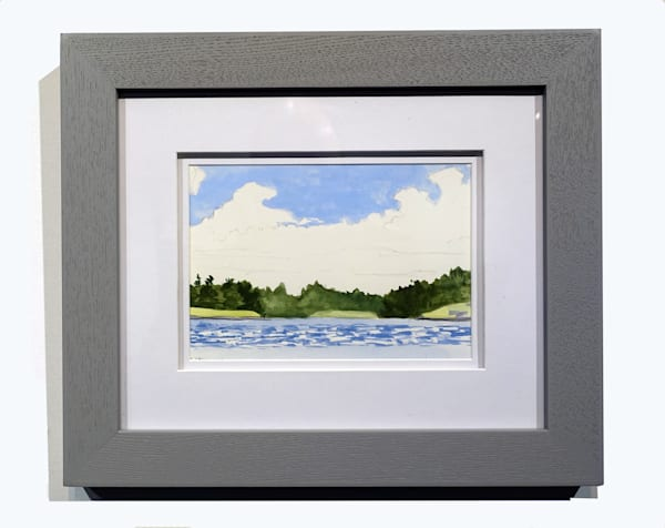 Lake Day painting by Mark Granlund