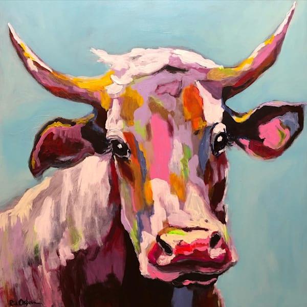 Rain Bull Art | Rick Osborn Art
