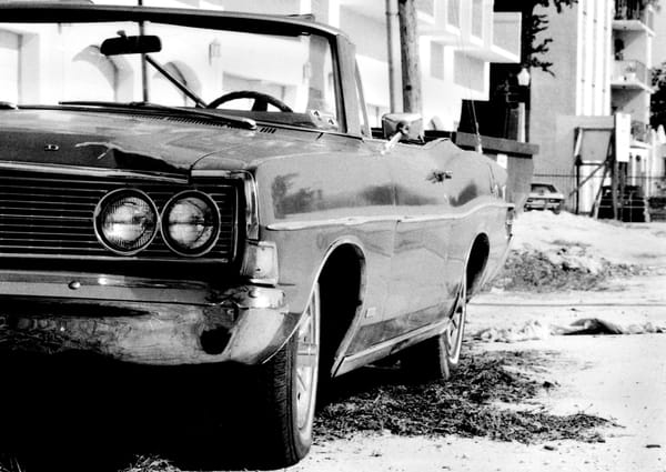 Half A Ford Convertible Photography Art   Peter Welch